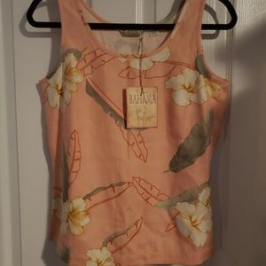 NWT TOMMY BAHAMA HAWAIIAN TANK TOP SIZE SMALL